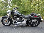 2007 - Harley-Davidson Softail Deluxe Charcoal Gray